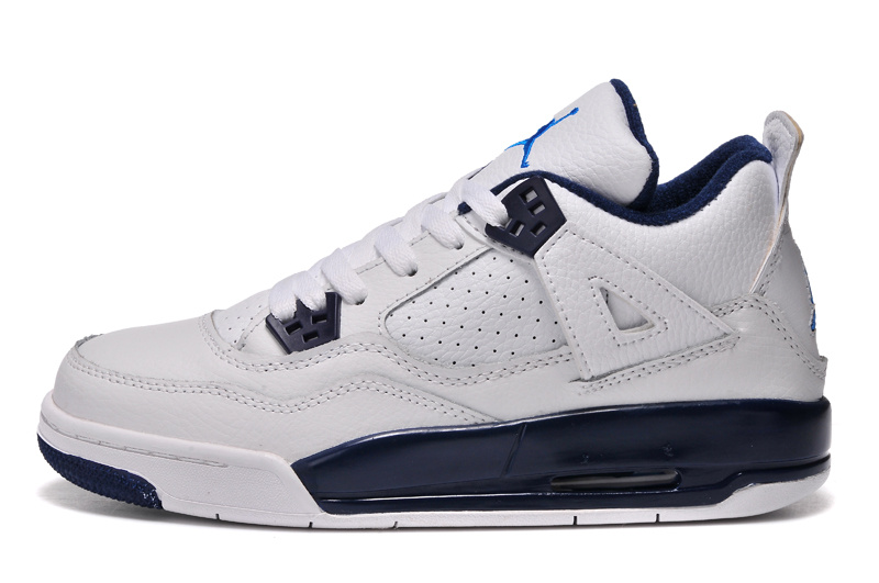 ЖЕНЩИНЫ Air Jordan 4 Retro GS Columbia Remastered 2015 продажа